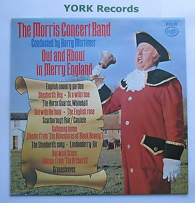 MORRIS CONCERT BAND - Out & About In Merry England - Ex Con LP Record MFP 50201