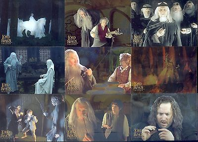 Lord Of The Rings Trilogy Chrome 2004 Topps Base Card Set Of 100 Movie Chromium