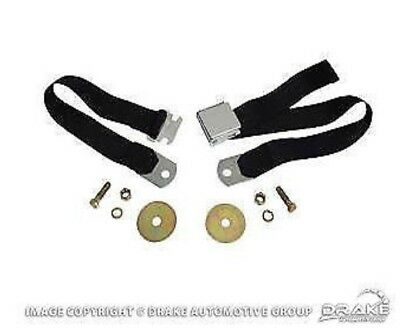 "1964-1973 Ford Mustang  ANY EARLY FORD 60"" Parchment/Palomino - Chrome Buckles"