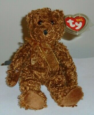 Ty Beanie Baby ~ HAWTHORNE the Bear ~ MINT with MINT TAGS ~ RETIRED