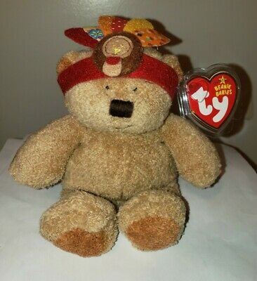 Ty Beanie Baby ~ LITTLE BEAR the Bear ~ MINT with MINT TAGS ~ RETIRED