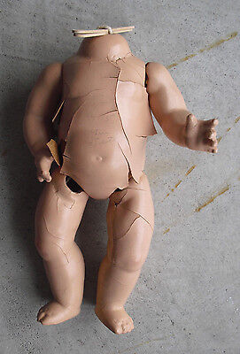 "Vintage 1930s Madame Alexander Composition Doll Body Arms and Legs 11"" Tall"