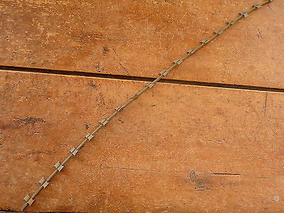 Uhl's Ribbed Razor Wire - Vietnam Entanglement Wire - Antique Barbed Barb  Wire