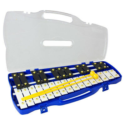 Percussion Workshop KB27 0 27 note chromatic glockenspiel with case and 2 beater