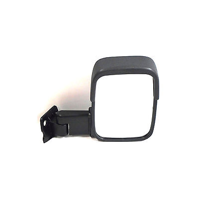 Right OS Offside Drivers Side Black Electric Heated Door Wing Mirror Unit