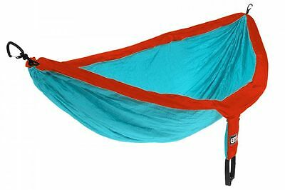 Eagles Nest Outfitters ENO DoubleNest Hammock Aqua/Red