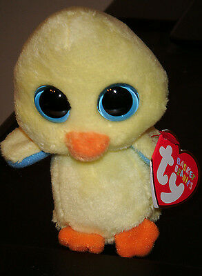 "Ty Basket Beanie - GOLDIE the 3"" Chick - MINT with MINT TAGS"