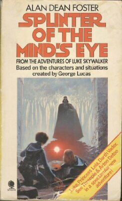 Splinter of the Mind's Eye by Foster, Alan Dean Paperback Book The Cheap Fast
