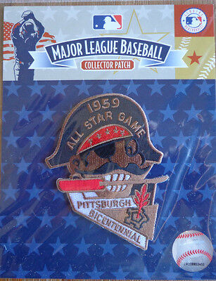 MLB Emblem Patch All Star Game 1959 in Pittsburgh Pirates Official Licensed