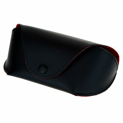Designer Fashion Sunglasses Glasses Case Belt Holder Black Red