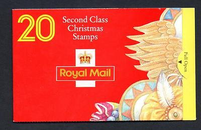 Gb 1994 Lx7 Christmas 20 X 2Nd Class Barcode Booklet