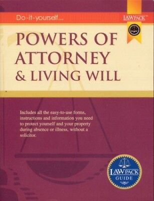Powers of Attorney & Living Will Guide by Ross, Jamie Paperback Book The Cheap