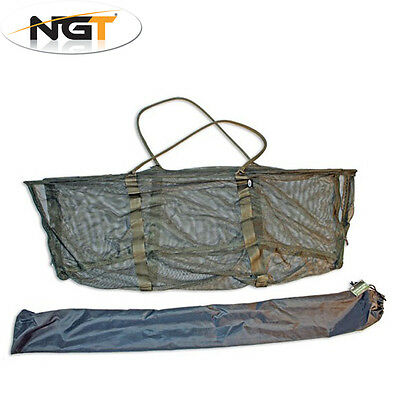 NGT Deluxe Carp Sling System & Case (stink Bag) 120 x 50cm Zip Up Coarse Fishing