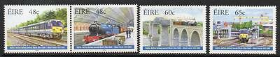 Ireland Mnh 2005 Sg1730-1733 150Th Anv Of Dublin-Belfast Railway