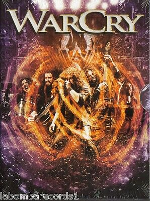 WARCRY Omega 2 DVD LIVE JAUS RECORDS 2012 SPANISH HEAVY (SEALED) AVALANCH