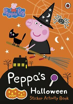 Peppa Pig: Peppa's Halloween Sticker Activity Book by Peppa Pig Book The Cheap