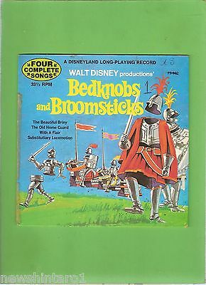 #d244.   1972  Disneyland Record  - Bedknobs And Broomsticks