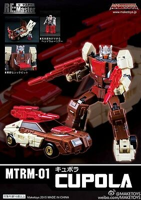 Maketoys Remastered Series Mtrm-01 Cupola Transformers Masterpiece Nuovo New