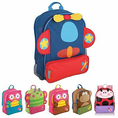Stephen Joseph Children Kids Portable Insulated Lunch Carry Picnic Bag Pal New