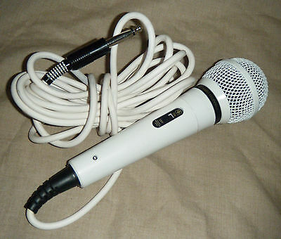 Audio Technica Dynamic White Microphone - Japan