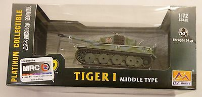 MRC 1/72 German Tiger 1 Middle Type s.SS Pz.ABT 101 Built Up Tank 36216