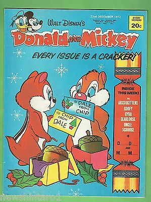 #CC5.  DISNEY DONALD DUCK & MICKEY MOUSE COMIC  23rd December  1972