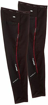 Craft Craft3 Acc Weather Jambières Noir/Rouge FR : XS-S Taille Fabrican NEUF