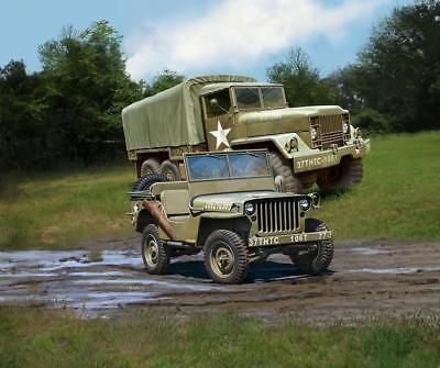 Revell M34 Tactical Truck + Off-Road Vehicle 1:35 Revell 03260  X