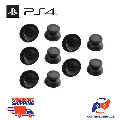 10 x Analogue Replacement Thumb sticks Grips Covers Sony PS4 Analog Controllers