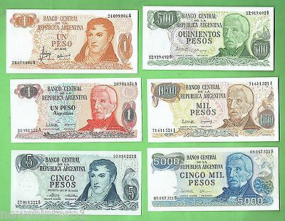 #d74.  Ten  World  Banknotes, Mostly  Argentina