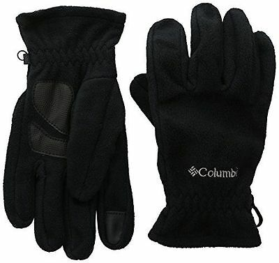 Columbia Thermarator Gants polaire tactile Femme Noir FR : S Taille NEUF