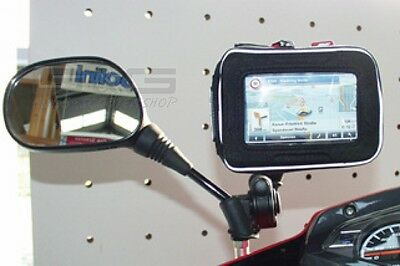 navigationstasche univers. with Mirror Mounting Motorcycle Motorbike Scooter