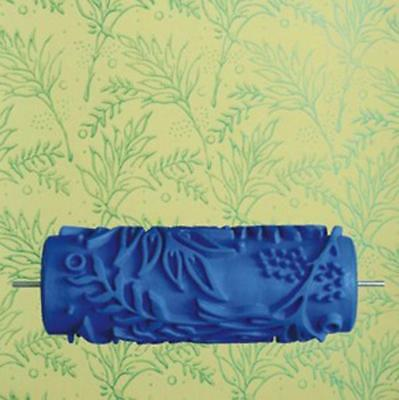 15cm DIY Tree Pattern Paint Painting Roller for Wall Ceiling Decoration 044Y