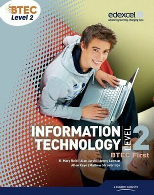 BTEC Level 2 First IT Student Book by McGill, Mr Richard Paperback Book The