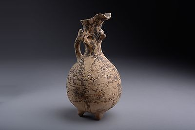 Ancient Greek Cypriot Middle Bronze Age Juglet - 1700 BC