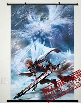 """Anime Final Fantasy Home Decor Cosplay Poster Wall Scroll 6023.6*35.4"""" C785"""