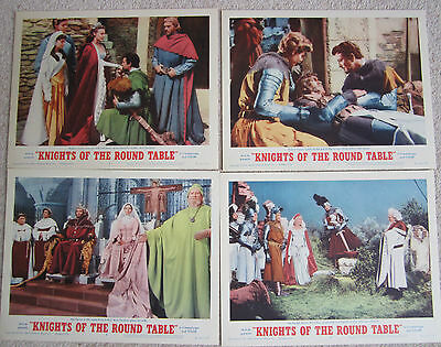 Film & Cinema original lobby cards set, Knights of the round table, Ava Gardner