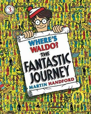 Where's Waldo? the Fantastic Journey by Martin Handford Paperback Book (English)