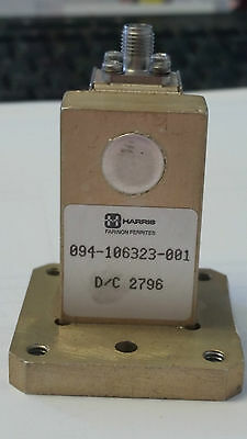 WAVEGUIDE Transition WR90 ADAPTER/ISOLATOR UBR100 TO SMA FEMALE 094-106323-001