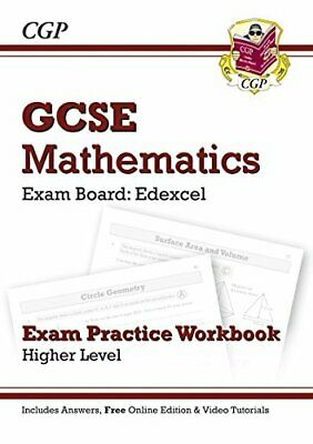 GCSE Maths Edexcel Exam Practice Workbook with answers & online ... by CGP Books