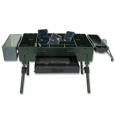 Rig Station Bivvytable Karpfen Angeln Carp Tackle Box Vorfachtisch Bindestation