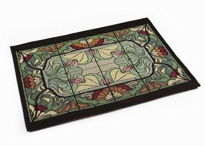 Rennie & Rose Design Group Arts and Crafts Thistle and Rose Bud Placemat