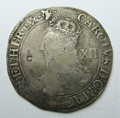 1634-39 Great Britain Charles I Shilling Coin