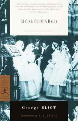 Middlemarch (Modern Library) - Paperback NEW George Eliot(Au 2000-10-27