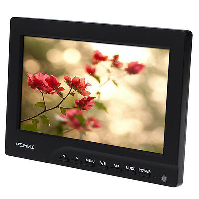 """FEELWORLD (FW689-HD) 7"""" LED Camera Video Field Filter Monitor for Canon 5D III"""