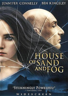 House of Sand and Fog ~ Ben Kingsley Jennifer Connelly ~ DVD WS ~ FREE Shipping
