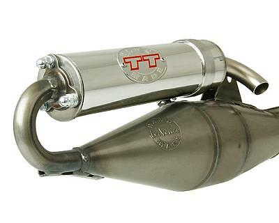 Exhaust Leovince Handmade Tt for Piaggio NRG Mc2 Diesis Derbi Atlantis