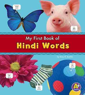 Hindi Words (Bilingual Picture Dictionaries) - Katy R. Kudela  NEW Hardcover 04/