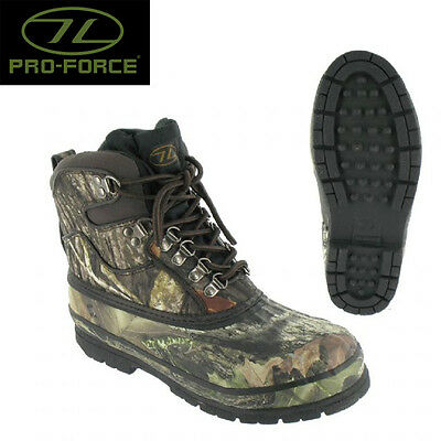 Glenmor Rubber Mucker Fishing Boot Size 9 Woodlands Camo Hutning