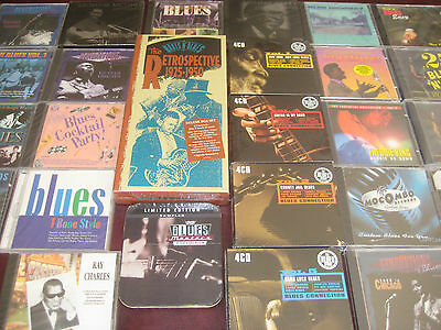 BLUES CONNECTION Various Artists 650+ TRACKS CDS & CASSETTE BOX 64 PAGE BOOK